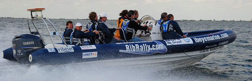 Rib Riddle Race – Snel over het water