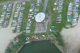 beachclub sail today uit de lucht